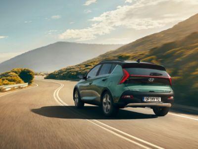 Rev Matching in de Hyundai BAYON, de nieuwe, compacte crossover-SUV.