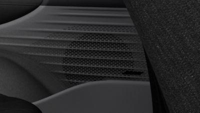 Het Bose Premium-audiosysteem in de Hyundai BAYON, de nieuwe, compacte crossover-SUV.
