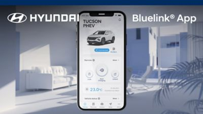 Video introducing the features of the Hyundai Bluelink app