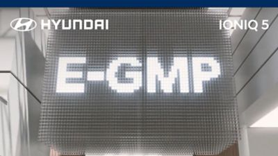 E-GMP platform of the Hyundai IONIQ 5.