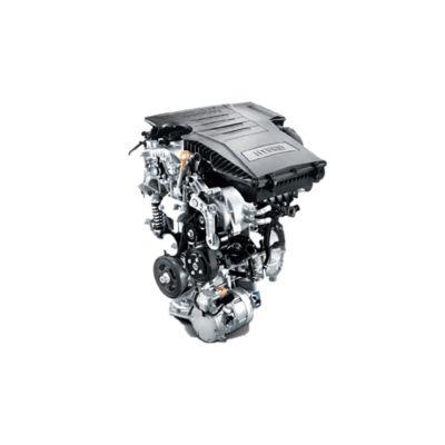 Nuevo motor híbrido de 48 V del nuevo Hyundai KONA Híbrido.