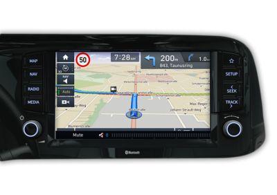 Hyundai i10 Nowej Generacji usługi łączności