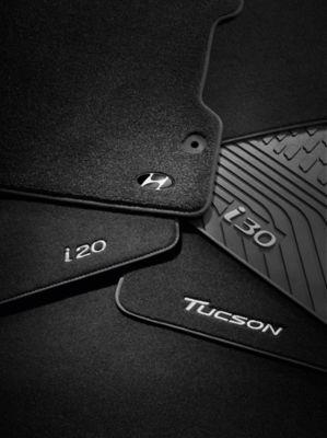 Genuine mats of Hyundai for the full model range.