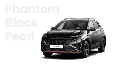 Hyundai KONA N performance SUV in Phantom Black Pearl.