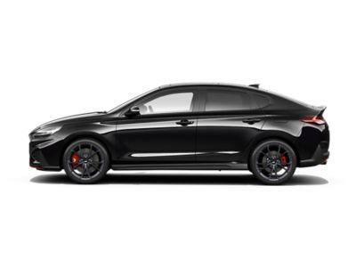colour options for the new Hyundai i30 Fastback N: Phantom Black Pearl