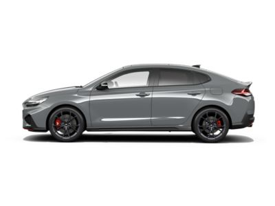 colour options for the new Hyundai i30 Fastback N: Shadow Gray