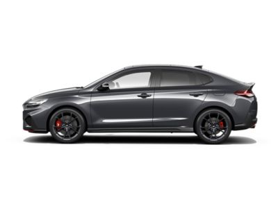 colour options for the new Hyundai i30 Fastback N: Dark Knight Gray Pearl