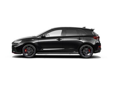 colour options for thenew Hyundai i30 N: Phantom Black Pearl