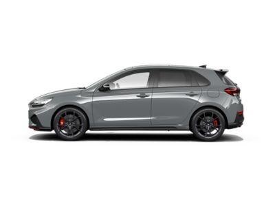 colour options for thenew Hyundai i30 N: Shadow Gray