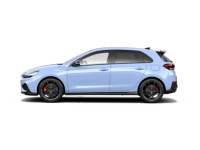 colour options for thenew Hyundai i30 N: Performance Blue