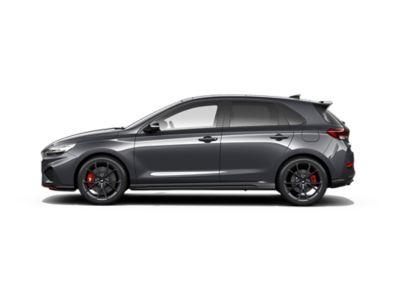 colour options for thenew Hyundai i30 N: Dark Knight Gray Pearl