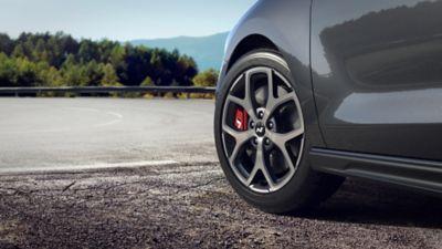 "18"" N alloy wheels on the new Hyundai i30 Fastback N"