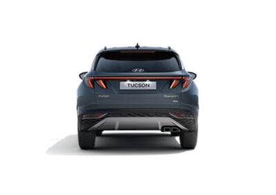 An image of the combination LED tail lamps on the all-new Hyundai Tucson compact SUV.