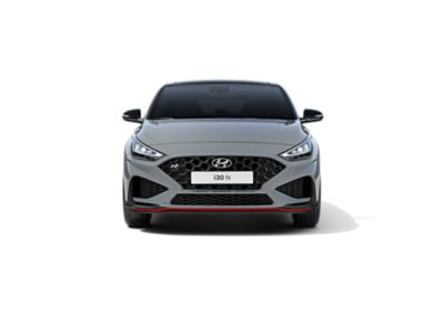 Hyundai i30 Fastback N from the front.