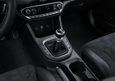 gear shifter for the 6-speed manual shifter of the new Hyundai i30 N performance hatchback.