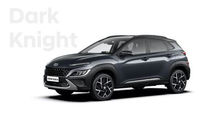 La nuova grande varietà di opzioni di colore di Nuova Hyundai KONA Hybrid: Dark Knight.