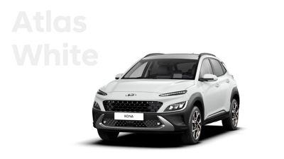 Nowa, zachwycająca gama kolorów Nowego Hyundaia KONA: Atlas White.