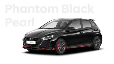 The all-new Hyundai i20 N in Phantom Black.