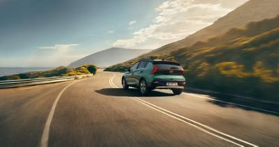 De rijmodi van de Hyundai BAYON, de nieuwe, compacte crossover-SUV: Normal, Eco en Sport.