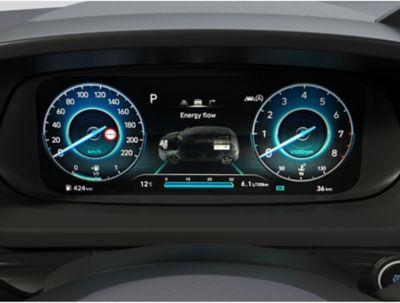 L'eccezionale digital cluster da 10.25'' all'interno del Nuovo Urban SUV compatto Hyundai BAYON