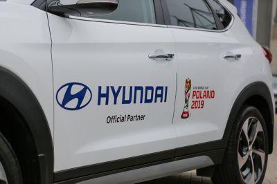 Okleina na samochodzie Hyundai Tucson