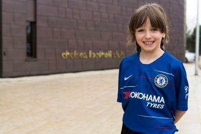 Chelsea fan Beth.