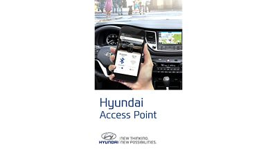 Screenshot of the Hyundai Access Point App.
