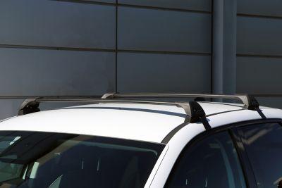 Lastestativ i aluminium til elbilen IONIQ 5. Foto.