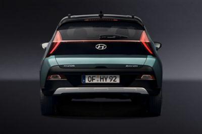 Tył modelu Hyundai BAYON.