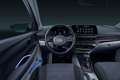 Interior of the all-new Hyundai BAYON.