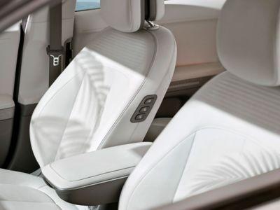 Écomatériaux à bord du CUV compact Hyundai IONIQ 5.