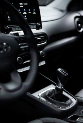 Kokpit we wnętrzu Nowego Hyundaia KONA.