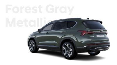 Vynikající barvy exteriéru nového Hyundai SANTA FE: Forest Gray Metallic.