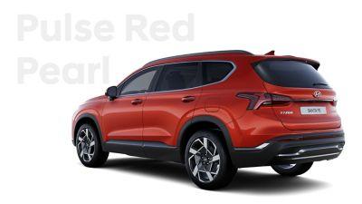 Vynikající barvy exteriéru nového Hyundai SANTA FE: Pulse Red Pearl.