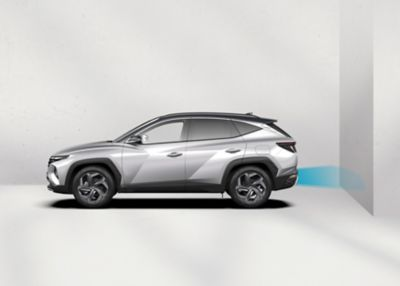 The all-new TUCSON Plug-In Hybrid with Parking Collision Avoidance Assist (PCAA)