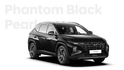 The different color options for the all-new Hyundai Tucson compact SUV: Phantom Black Pearl.