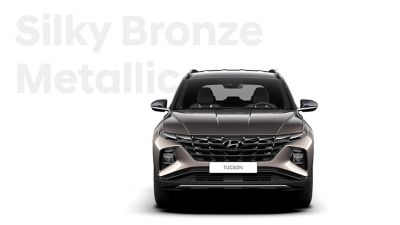The different color options for the all-new Hyundai Tucson compact SUV: Silky Bronze Metallic.