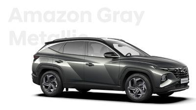 Różne opcje kolorystyczne nowego kompaktowego SUV-a Hyundai TUCSON Plug-in Hybrid: Amazon Gray