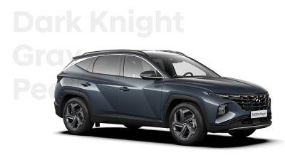 Różne opcje kolorystyczne nowego kompaktowego SUV-a Hyundai TUCSON Plug-in Hybrid: Dark Knight