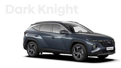 De kleuren voor de nieuwe Hyundai TUCSON Plug-in Hybrid compacte SUV: Dark Knight.