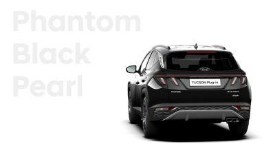 Różne opcje kolorystyczne nowego kompaktowego SUV-a Hyundai TUCSON Plug-in Hybrid: Phantom Black
