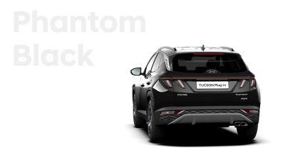 De kleuren voor de nieuwe Hyundai TUCSON Plug-in Hybrid compacte SUV: Phantom Black.