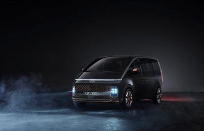 Hyundai STARIA Multi Purpose Vehicle, Hyundai's next fuel cell electric vehicle.
