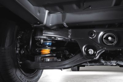 Picture of suspension in the all-new STARIA Van.