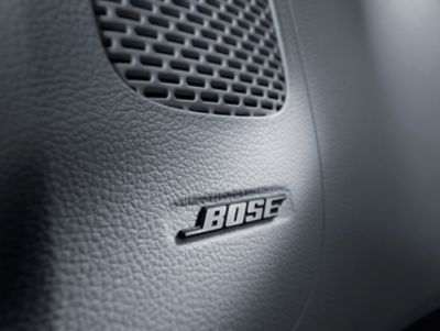 The BOSE sound system in the all-new STARIA with its high-performance speakers for perfect sound.