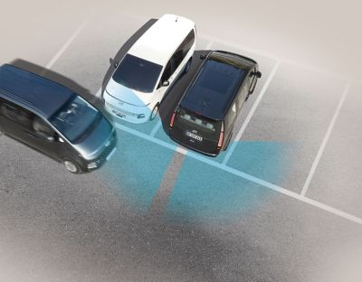 The Hyundai STARIA multi-purpose vehicle with best-in class safety features.