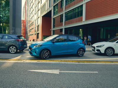 Les systèmes avancés d'assistance au conducteur Hyundai SmartSense rendent la conduite plus sûre.