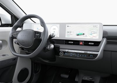 Over-the-air updates voor kaarten en infotainment voor de IONIQ 5 Project 45 elektrische CUV.