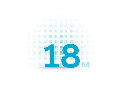 Icona della ricarica rapida in 18 minuti del SUV Crossover compatto Hyundai IONIQ 5.