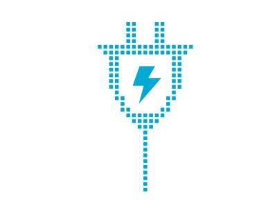 Logo di ricarica e della batteria da 800 V del CUV compatto Hyundai IONIQ 5.